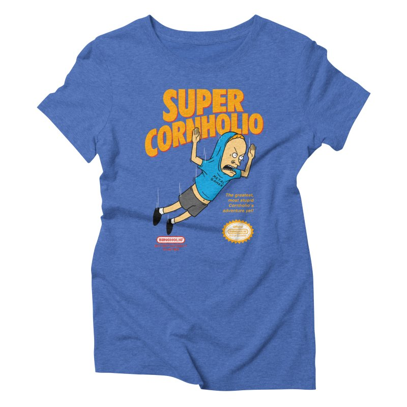 Super Cornholio Women's Triblend T-Shirt by Pigboom's Artist Shop