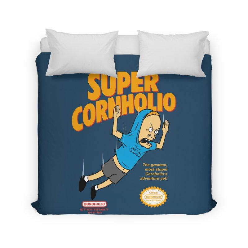 Super Cornholio Home Duvet by Pigboom's Artist Shop