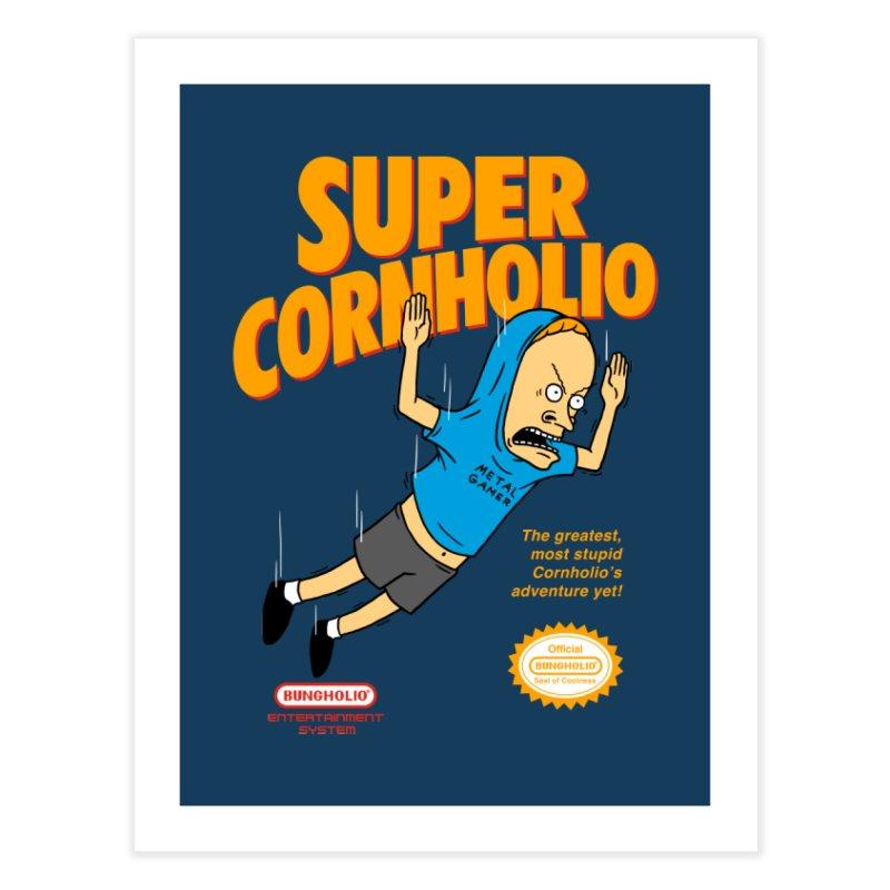 Super Cornholio Home Fine Art Print by Pigboom's Artist Shop