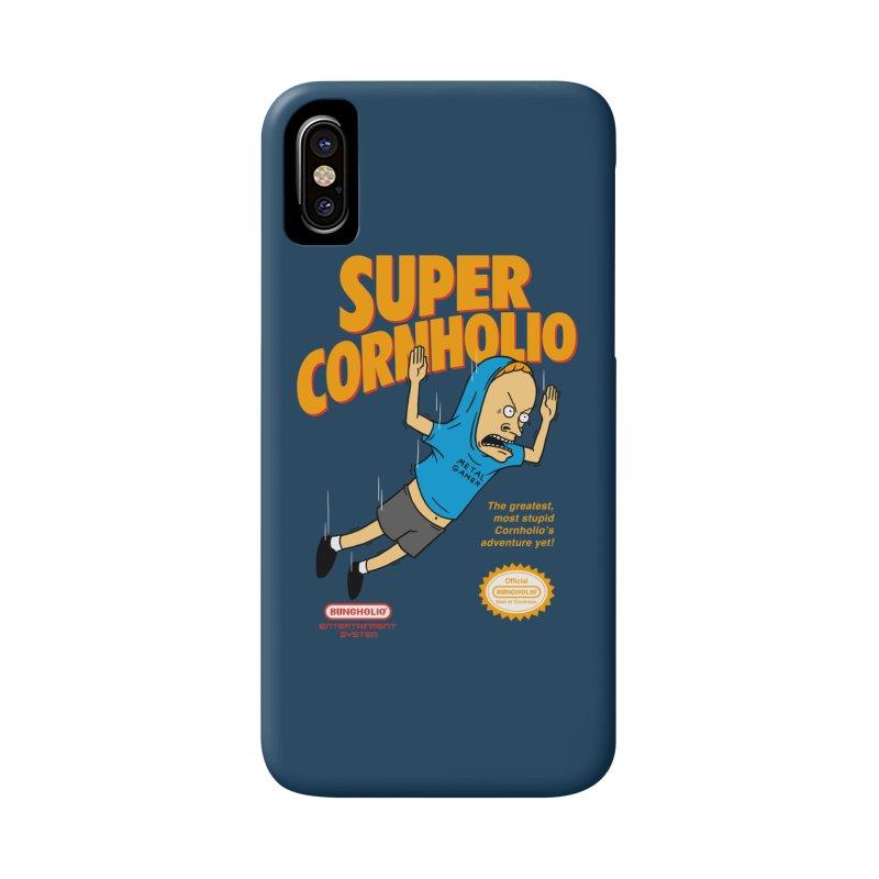 Super Cornholio Accessories Phone Case by Pigboom's Artist Shop