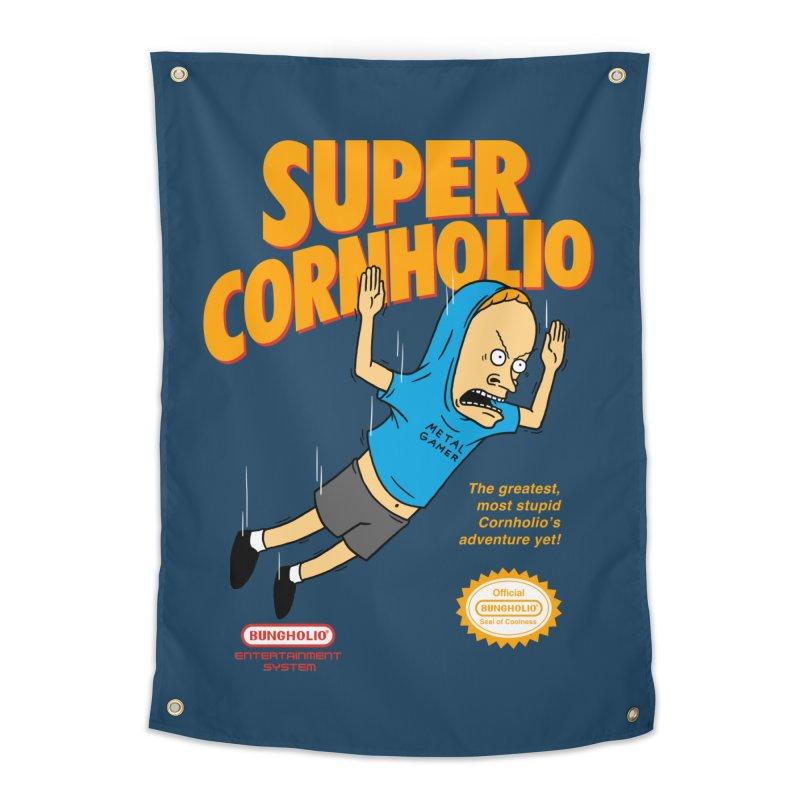 Super Cornholio Home Tapestry by Pigboom's Artist Shop