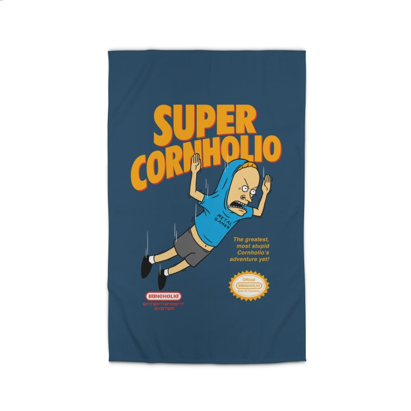 Super Cornholio Home Rug by Pigboom's Artist Shop