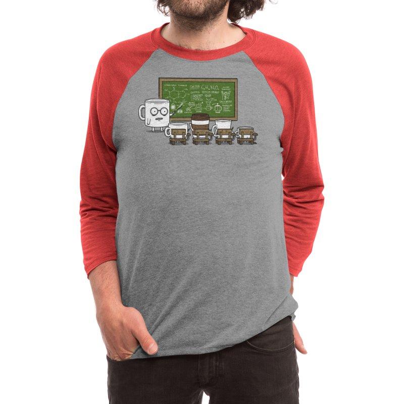 Coffee Lessons Men's Longsleeve T-Shirt by Pigboom's Artist Shop