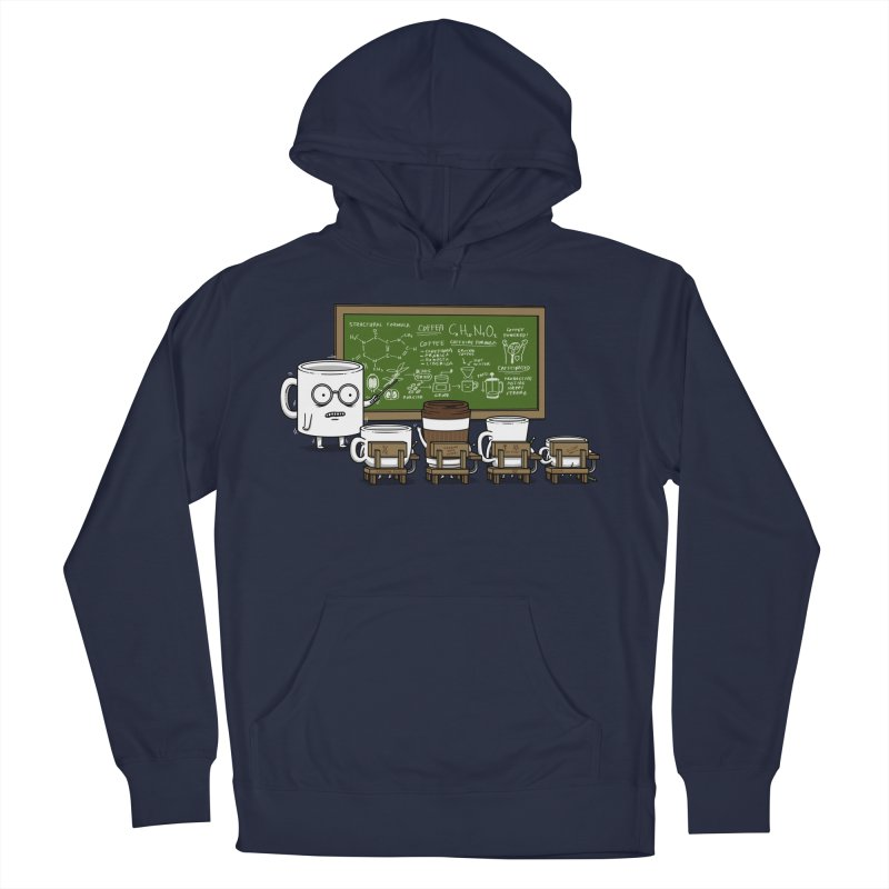 Coffee Lessons Women's French Terry Pullover Hoody by Pigboom's Artist Shop