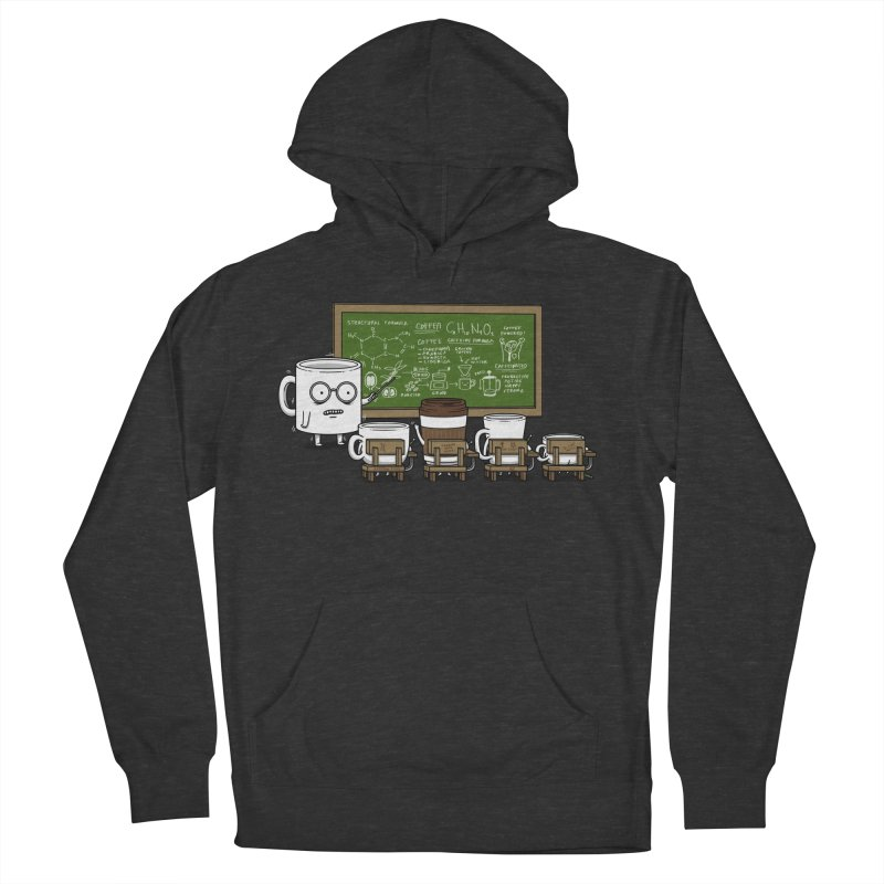 Coffee Lessons Men's French Terry Pullover Hoody by Pigboom's Artist Shop