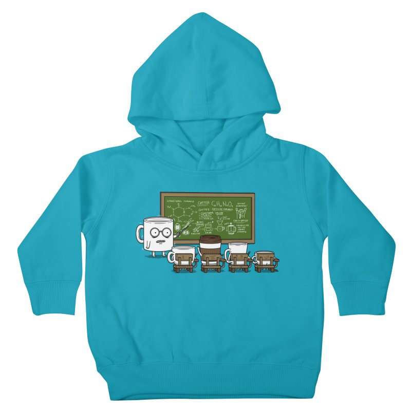 Coffee Lessons Kids Toddler Pullover Hoody by Pigboom's Artist Shop
