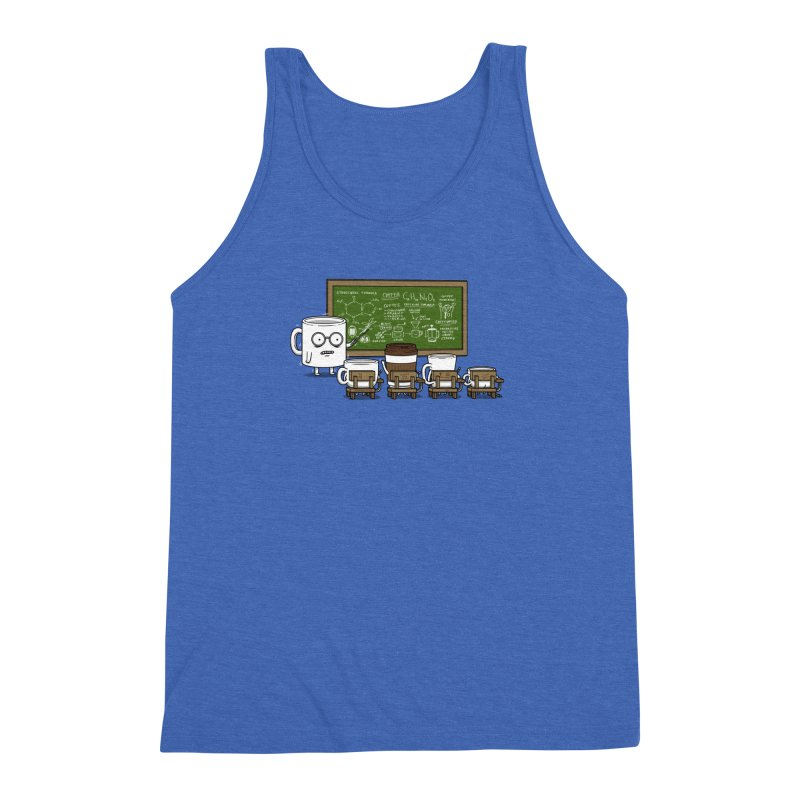 Coffee Lessons Men's Triblend Tank by Pigboom's Artist Shop