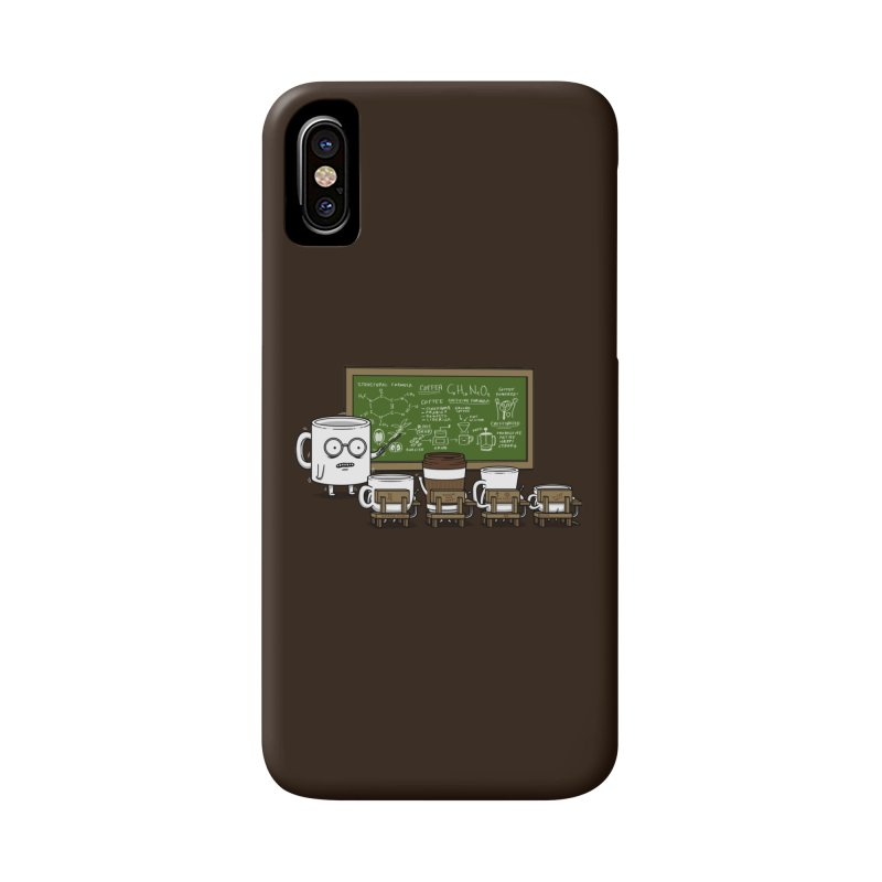 Coffee Lessons Accessories Phone Case by Pigboom's Artist Shop