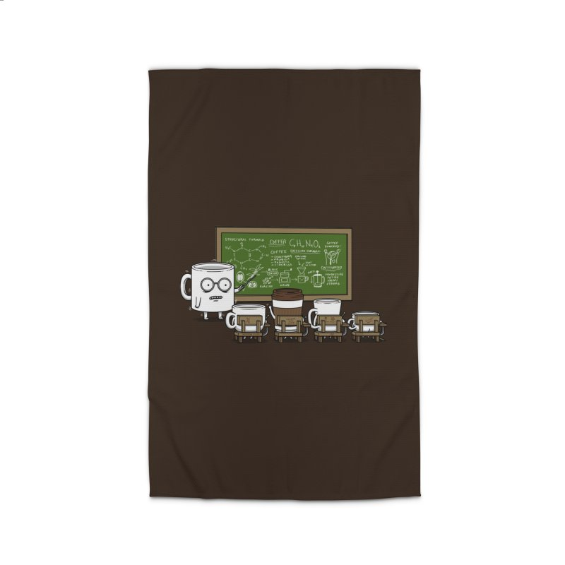 Coffee Lessons Home Rug by Pigboom's Artist Shop
