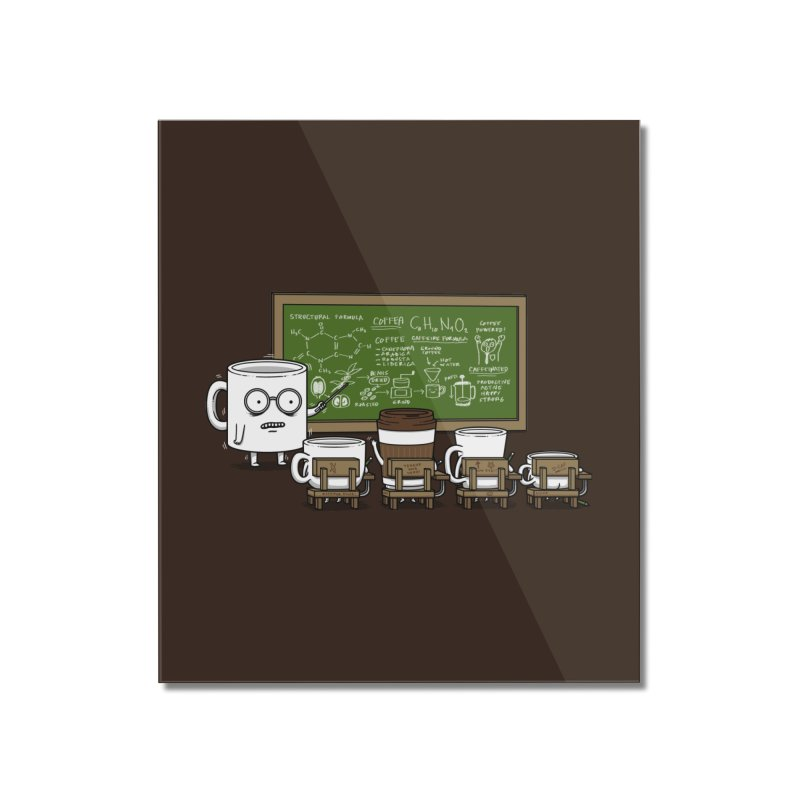 Coffee Lessons Home Mounted Acrylic Print by Pigboom's Artist Shop