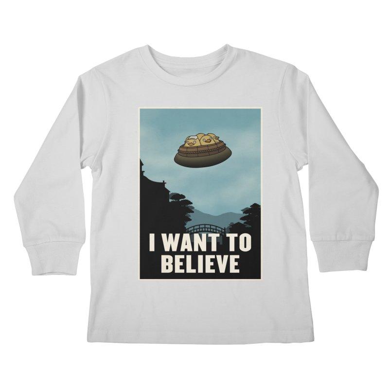 I Want to Bath Kids Longsleeve T-Shirt by Pigboom's Artist Shop