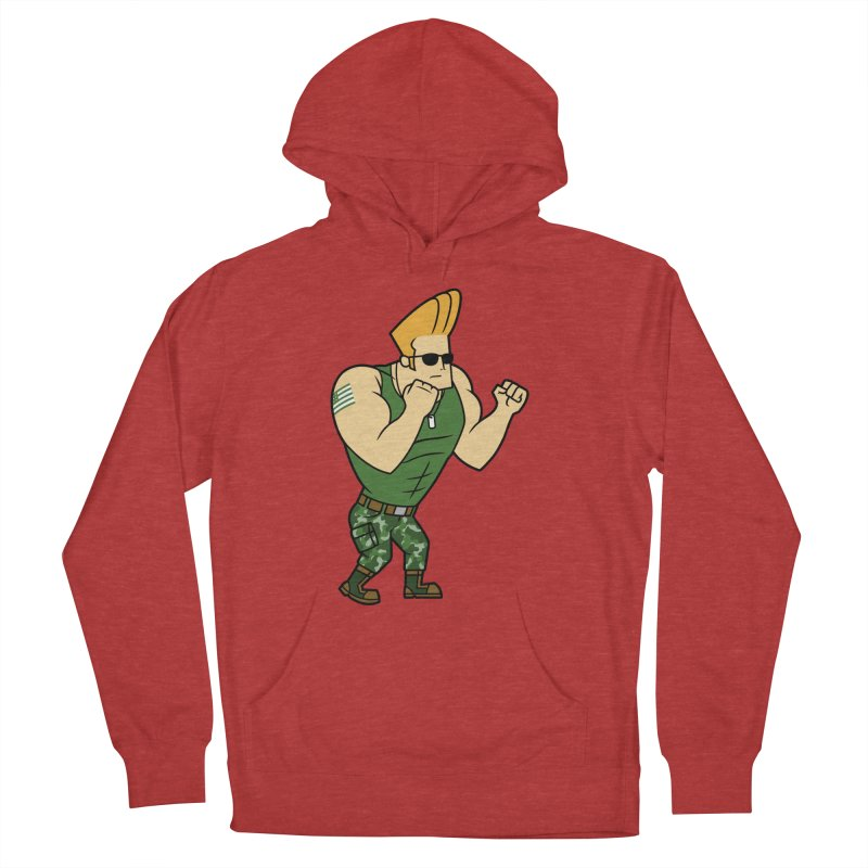 Major Bravo Men's French Terry Pullover Hoody by Pigboom's Artist Shop