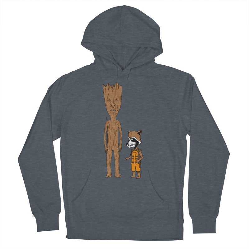Stupid Guardians Women's French Terry Pullover Hoody by Pigboom's Artist Shop