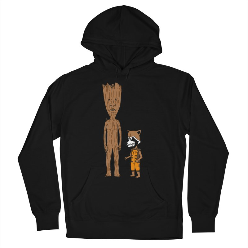 Stupid Guardians Men's French Terry Pullover Hoody by Pigboom's Artist Shop