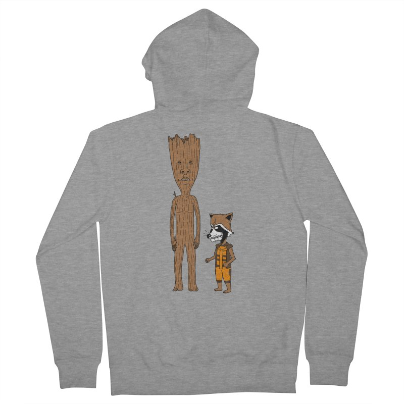 Stupid Guardians Men's French Terry Zip-Up Hoody by Pigboom's Artist Shop