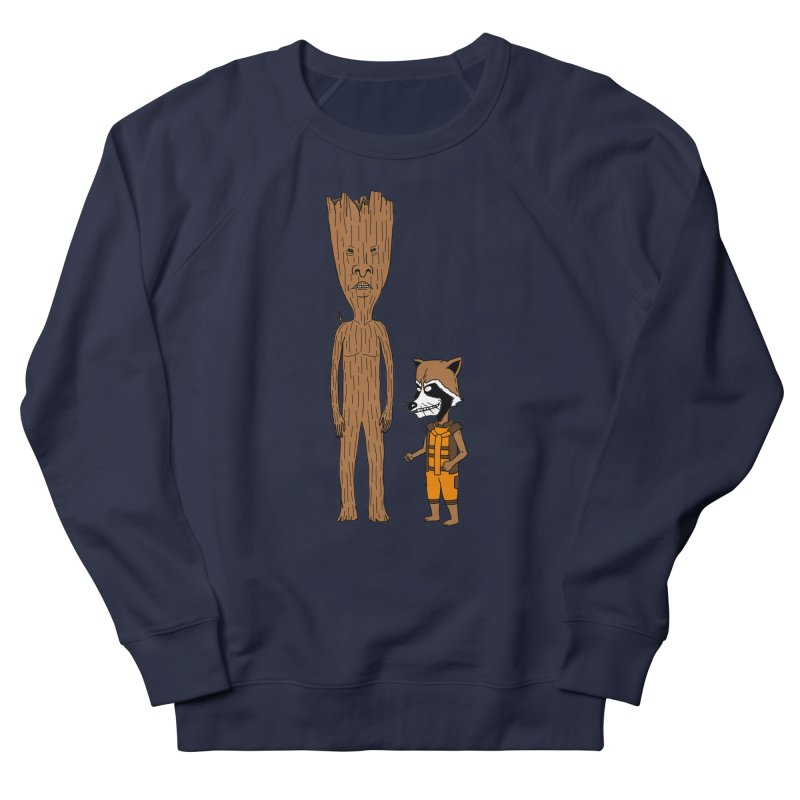 Stupid Guardians Men's French Terry Sweatshirt by Pigboom's Artist Shop