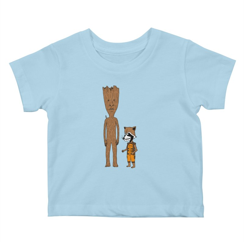 Stupid Guardians Kids Baby T-Shirt by Pigboom's Artist Shop