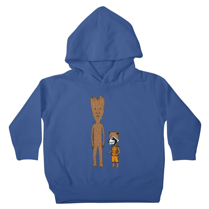Stupid Guardians Kids Toddler Pullover Hoody by Pigboom's Artist Shop