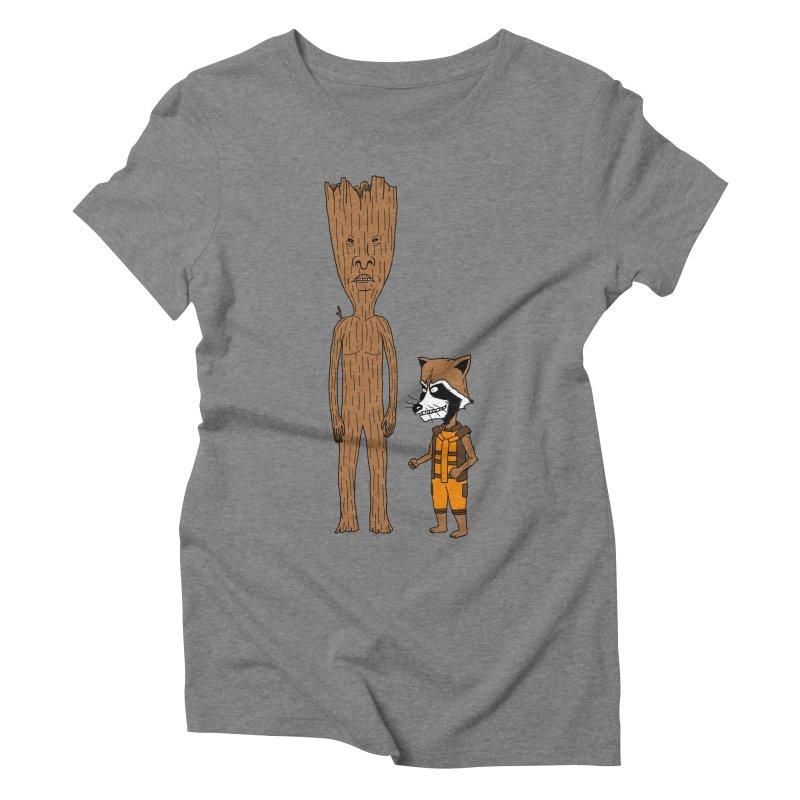 Stupid Guardians Women's Triblend T-Shirt by Pigboom's Artist Shop