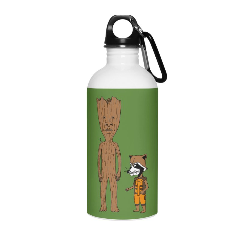 Stupid Guardians Accessories Water Bottle by Pigboom's Artist Shop
