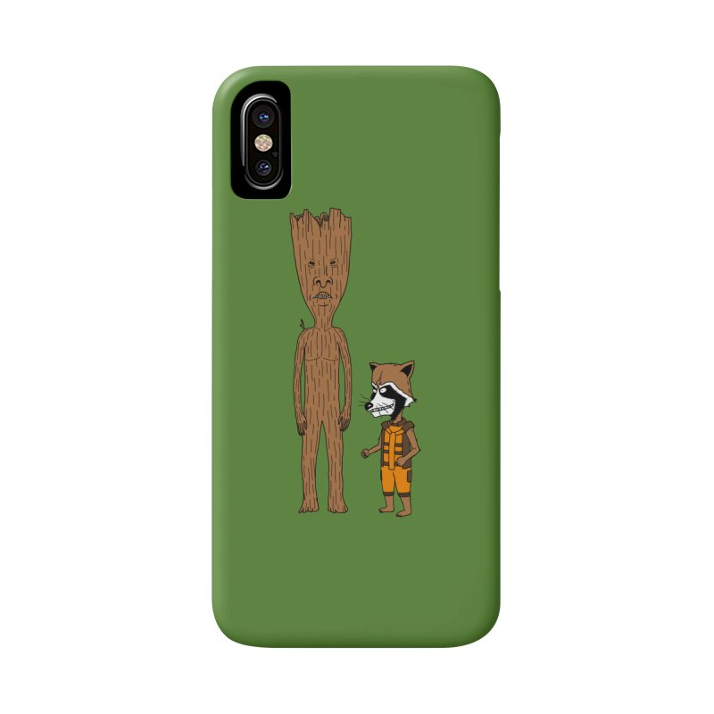 Stupid Guardians Accessories Phone Case by Pigboom's Artist Shop