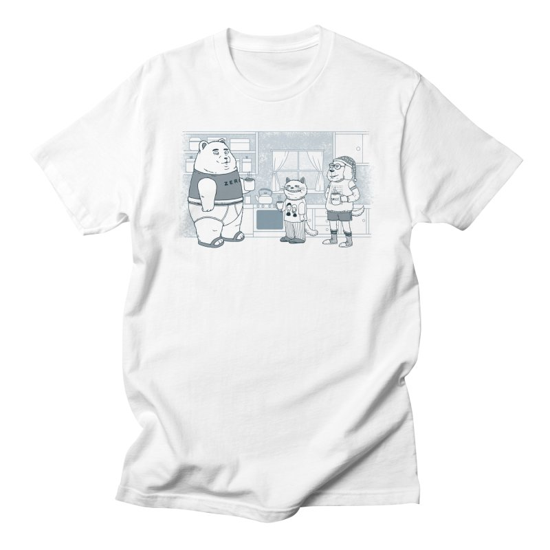 Morning Coffee Club Women's Regular Unisex T-Shirt by Pigboom's Artist Shop