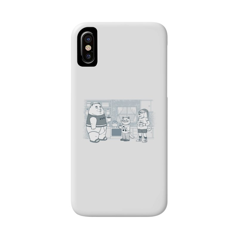 Morning Coffee Club Accessories Phone Case by Pigboom's Artist Shop
