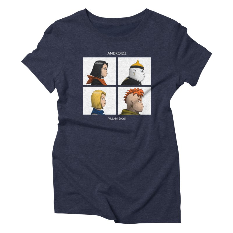 Androidz Women's Triblend T-Shirt by Pigboom's Artist Shop