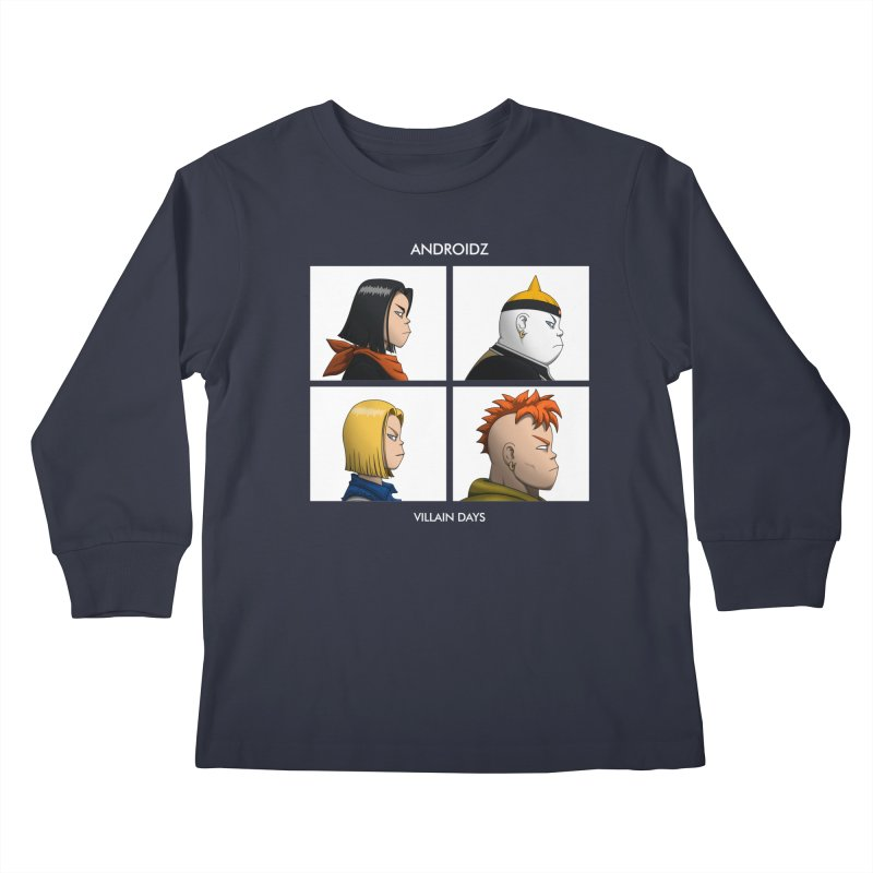 Androidz Kids Longsleeve T-Shirt by Pigboom's Artist Shop