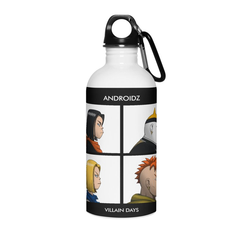 Androidz Accessories Water Bottle by Pigboom's Artist Shop