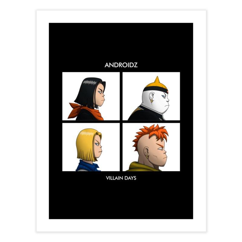 Androidz Home Fine Art Print by Pigboom's Artist Shop