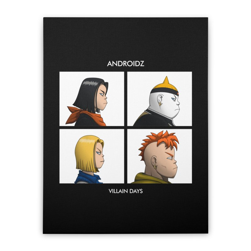 Androidz Home Stretched Canvas by Pigboom's Artist Shop