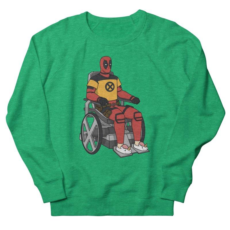 X-Hausting Trainee Men's French Terry Sweatshirt by Pigboom's Artist Shop
