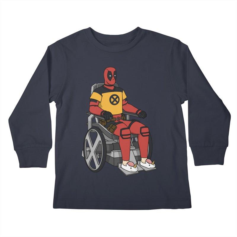 X-Hausting Trainee Kids Longsleeve T-Shirt by Pigboom's Artist Shop