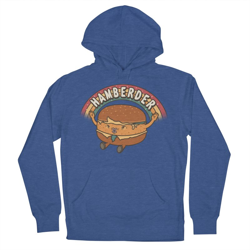 Hamberder Women's French Terry Pullover Hoody by Pigboom's Artist Shop