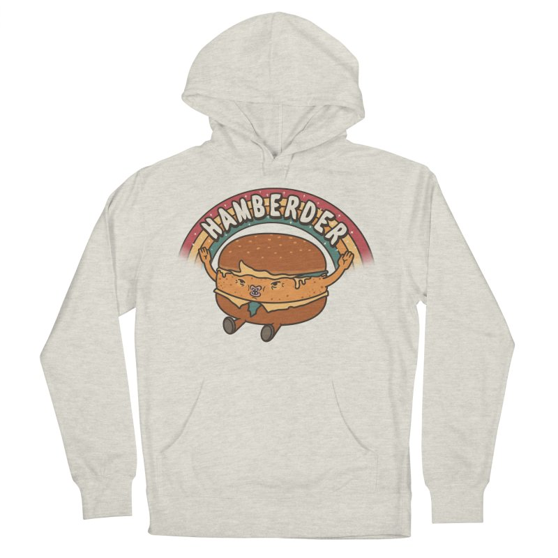 Hamberder Men's French Terry Pullover Hoody by Pigboom's Artist Shop