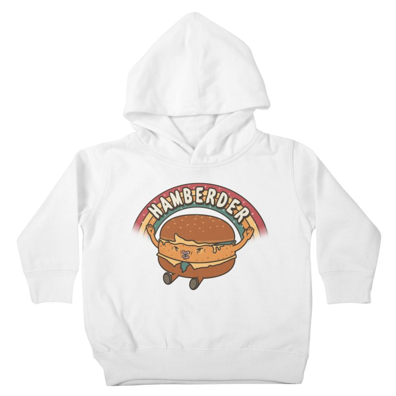 Hamberder Kids Toddler Pullover Hoody by Pigboom's Artist Shop