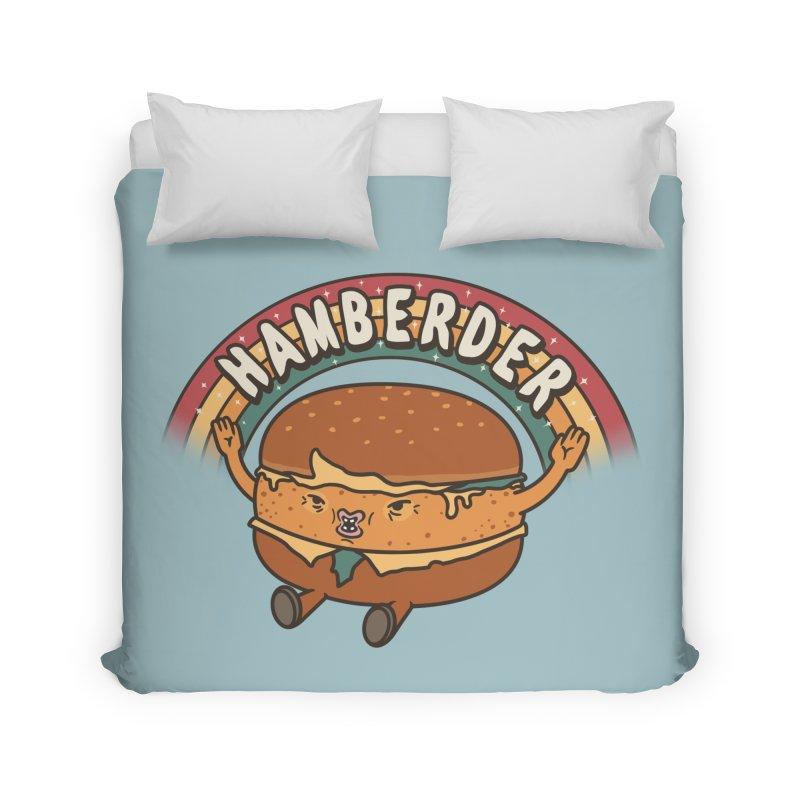 Hamberder Home Duvet by Pigboom's Artist Shop