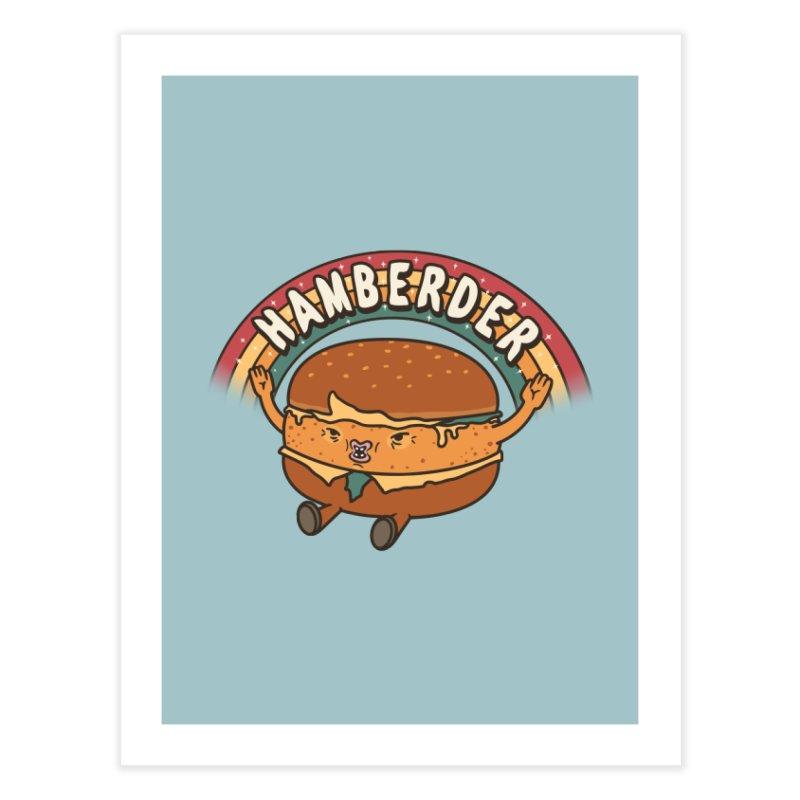 Hamberder Home Fine Art Print by Pigboom's Artist Shop