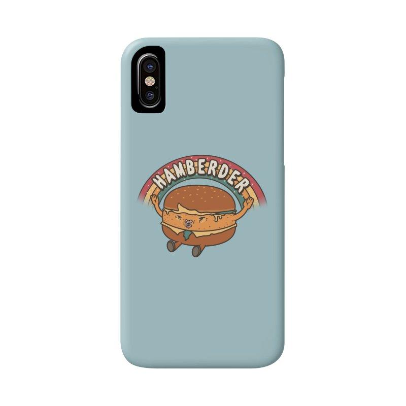 Hamberder Accessories Phone Case by Pigboom's Artist Shop