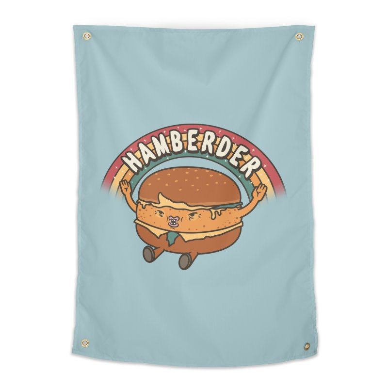 Hamberder Home Tapestry by Pigboom's Artist Shop