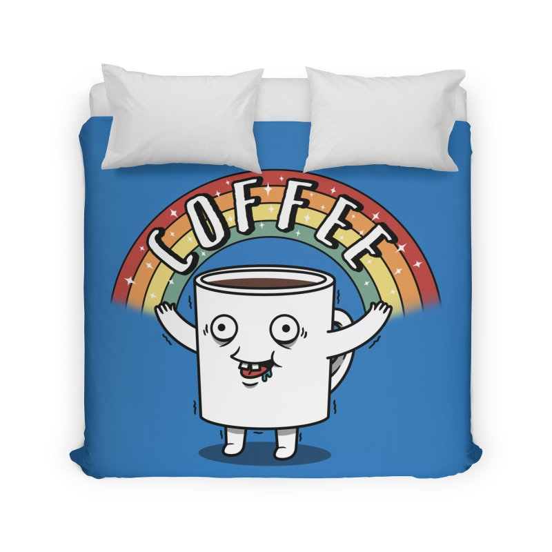 Start the day with Coffee Home Duvet by Pigboom's Artist Shop