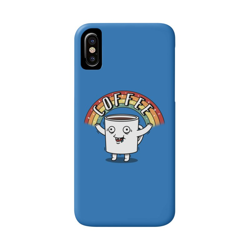 Start the day with Coffee Accessories Phone Case by Pigboom's Artist Shop