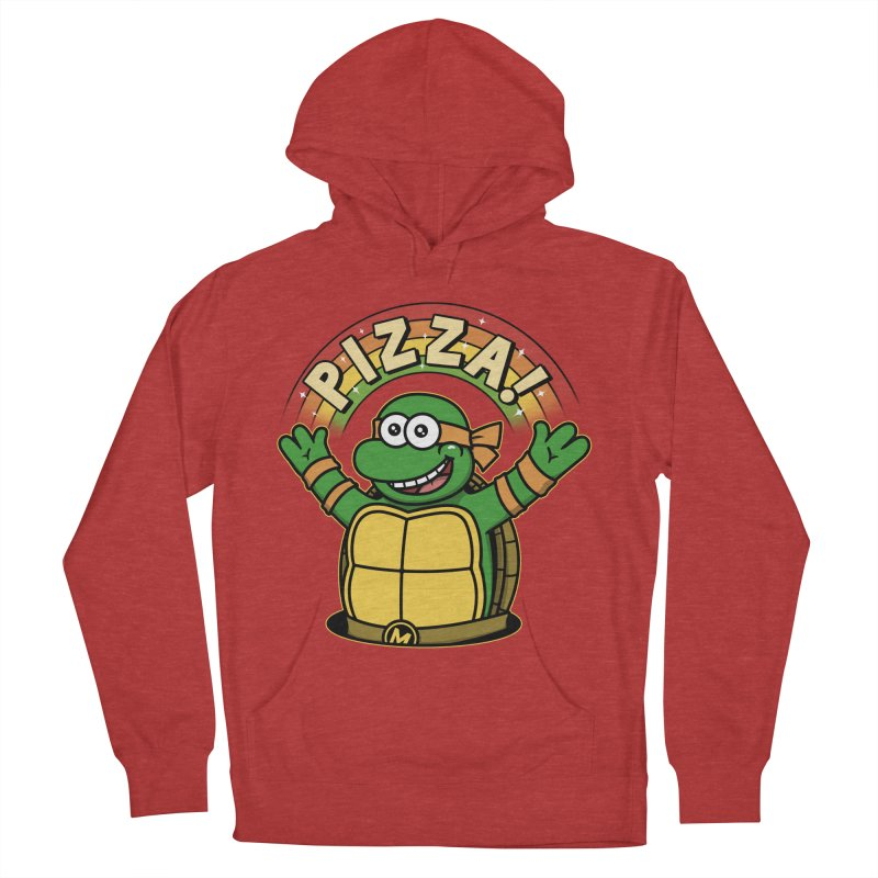 As long as we have Pizza! Men's French Terry Pullover Hoody by Pigboom's Artist Shop