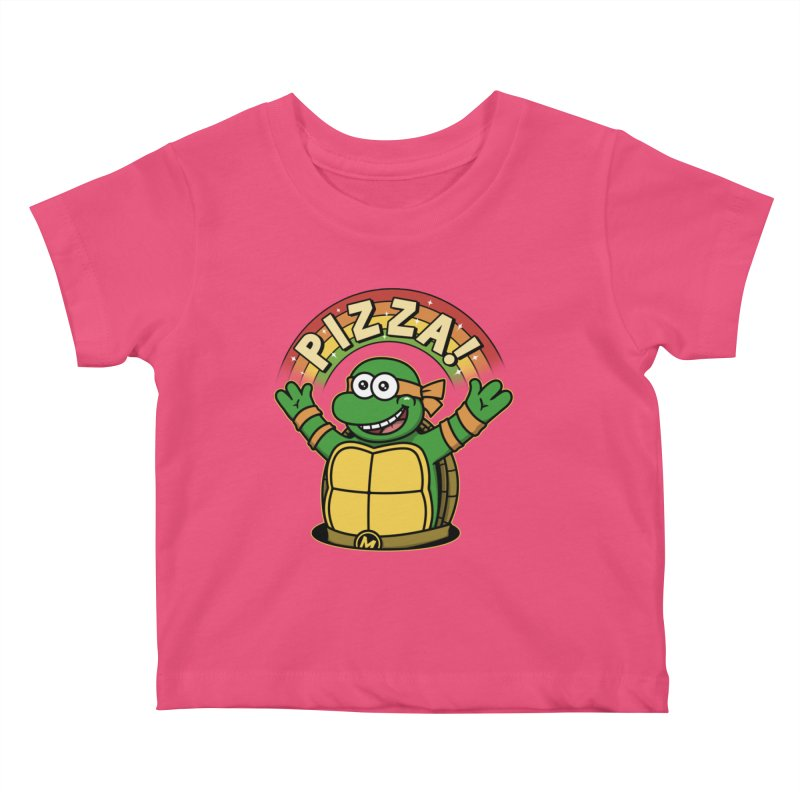 As long as we have Pizza! Kids Baby T-Shirt by Pigboom's Artist Shop
