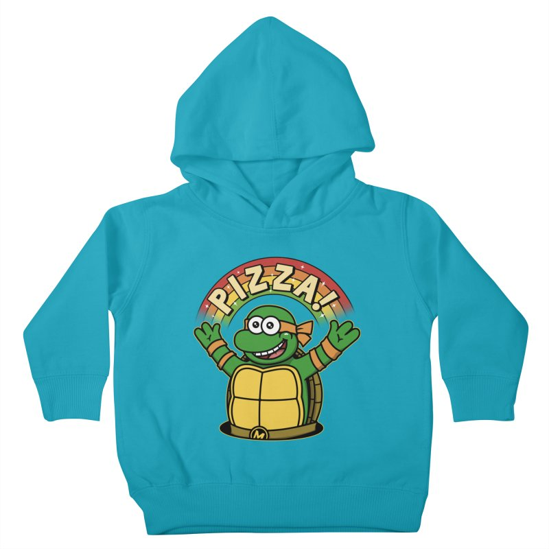 As long as we have Pizza! Kids Toddler Pullover Hoody by Pigboom's Artist Shop