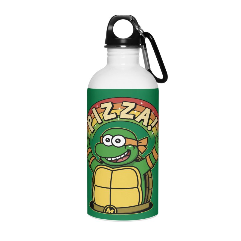 As long as we have Pizza! Accessories Water Bottle by Pigboom's Artist Shop