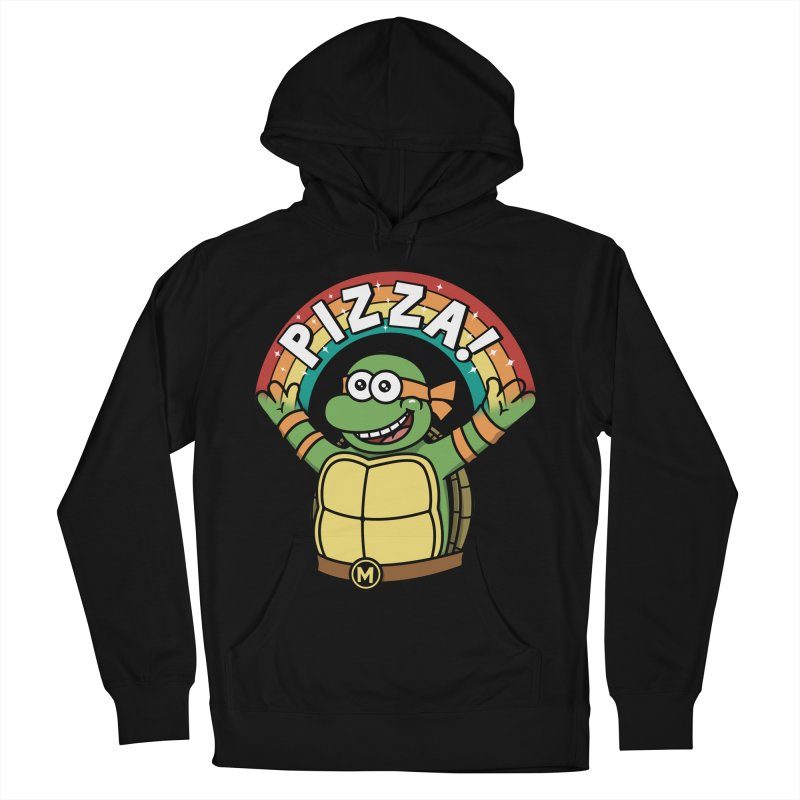 As long as we have Pizza! Women's French Terry Pullover Hoody by Pigboom's Artist Shop
