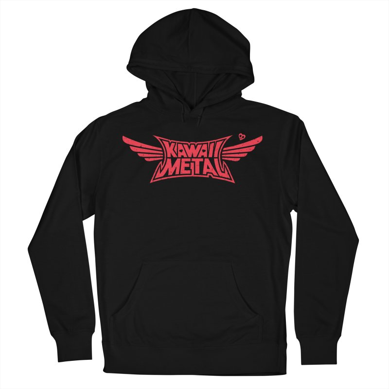 Kawaii Metal Women's French Terry Pullover Hoody by Pigboom's Artist Shop