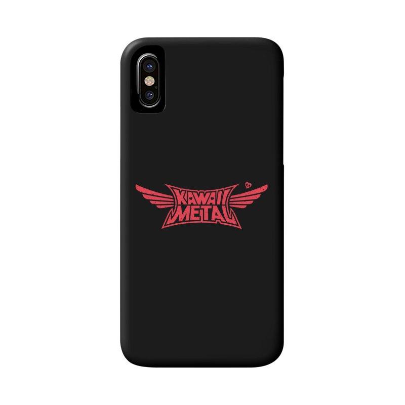 Kawaii Metal Accessories Phone Case by Pigboom's Artist Shop